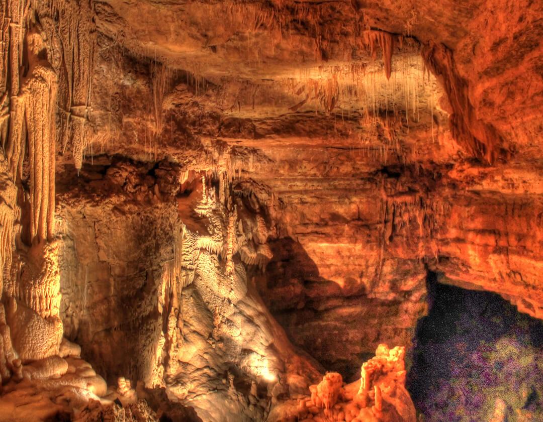 Natural Bridge Caverns in San Antonio, Texas